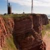 Die Rotsandsteinklippen von Helgoland