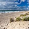 Der Strand am Roten Kliff bei Kampen auf Sylt