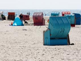 Strandkörbe auf Amrum